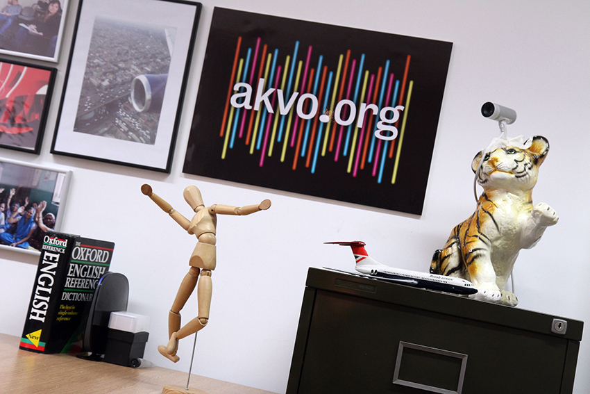 Akvo signage