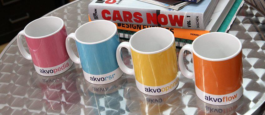 Akvo mugs