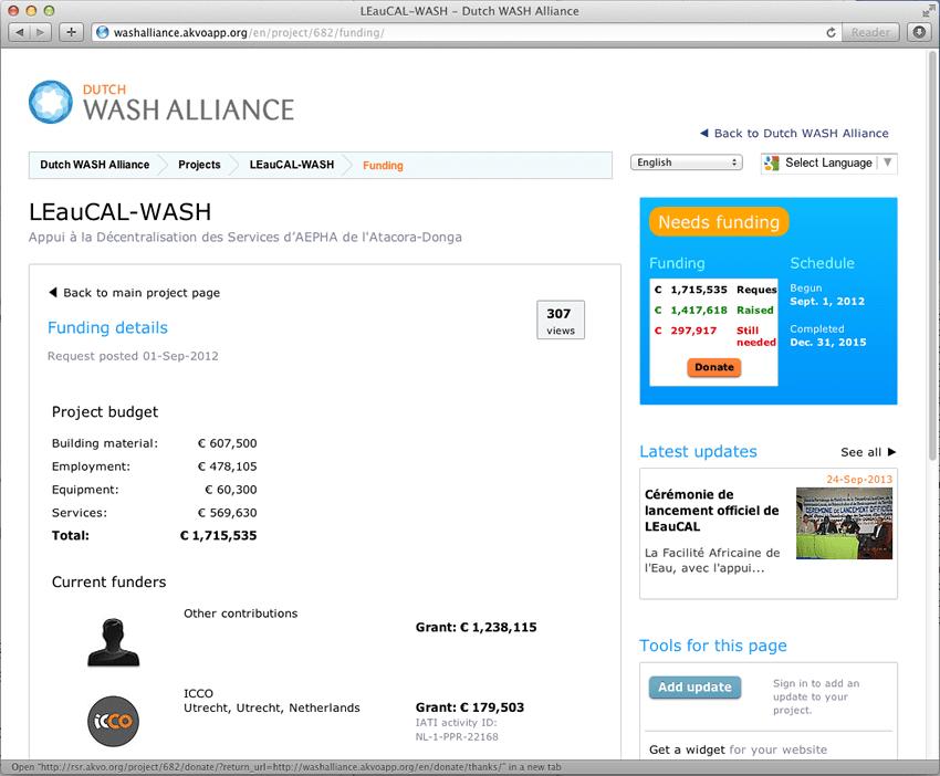 9-Dutch WASH Alliance RSR IATI
