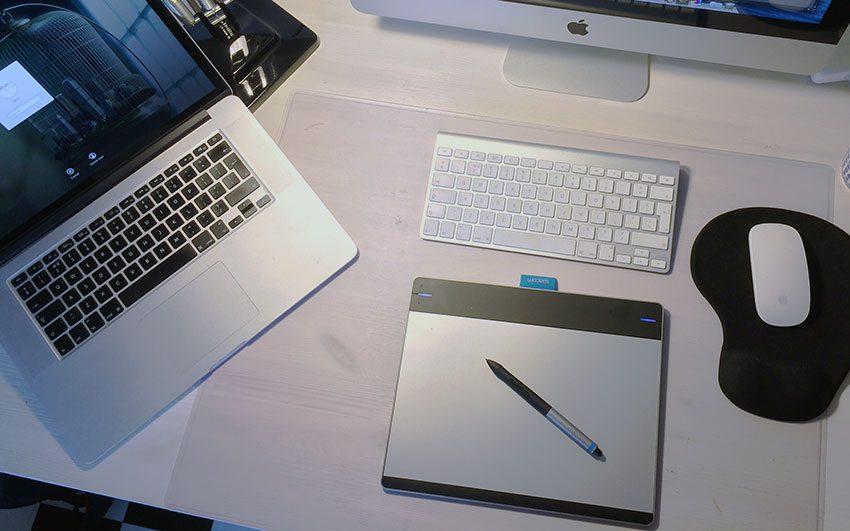 Desk-setup