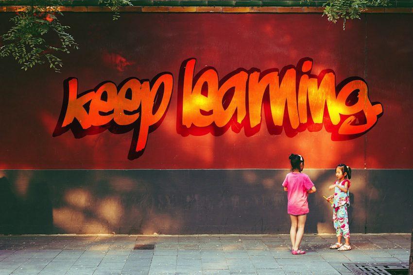 Keep learning.850