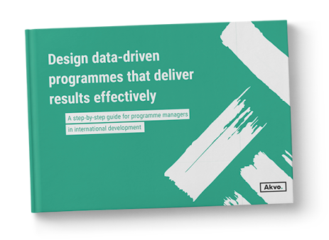 Design data-driven programmes that deliver results effectively
