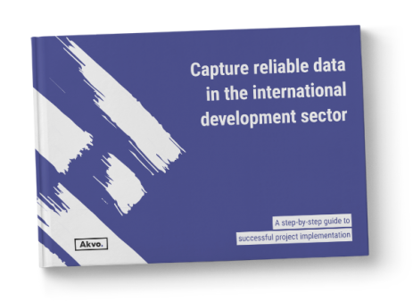 Capture reliable data in the international development sector